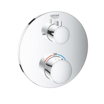 Термостат для ванны  Grohe Grohtherm Thermostatic , хром (24077000)