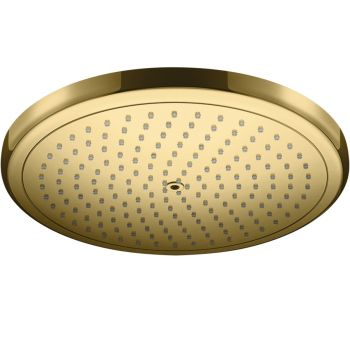 Верхний душ Hansgrohe Croma  280 1jet, polished gold optic (26220990)