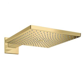 Верхний душ Hansgrohe Raindance E Overhead shower 300 1jet,  polished gold optic (26238990)