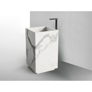 Раковина отдельностоящая Fiandre Aqua Maximum 50x50 (GF 5050 Waterfall with pedestal)