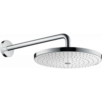 Верхний душ Hansgrohe Raindance Select S Overhead shower 300 2jet, белый/хром (27378400)