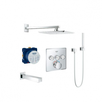 Комплект Grohe Grohtherm Smartcontrol с Rainshower Allure 230 (34506SC2)