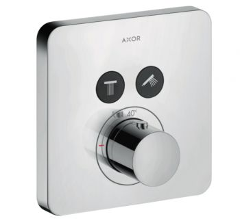 Термостат для душа Axor Citterio Shower Select на 2 режима, хром (36707000)