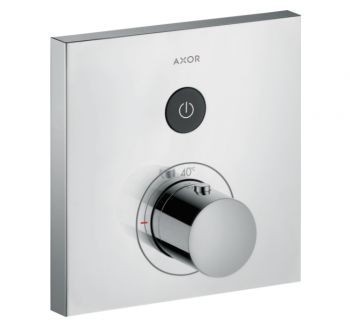 Термостат для душа Axor Shower Select Square на 1 режим, хром (36714000)