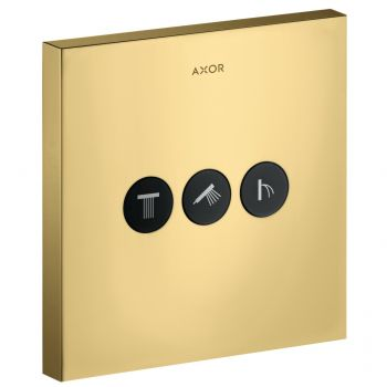 Запорный вентиль Axor ShowerSelect Sguare, gold optic (36717990)