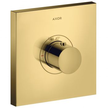 Термостат Axor ShowerSelect Highflow square скрытого монтажа, gold optic (36718990)