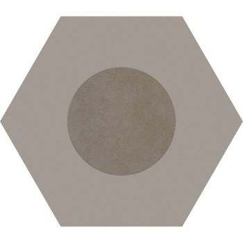 Керамогранит Ornamenta Corebasics Dot-Negative Ashgrey Hexagon 60 (CB60DNA)