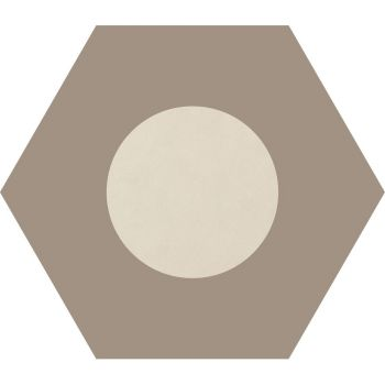 Керамогранит Ornamenta Corebasics Dot-Negative Ivory Hexagon 60 (CB60DNI)