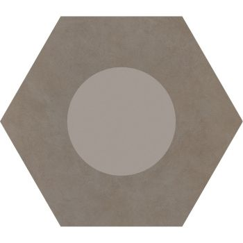 Керамогранит Ornamenta Corebasics Dot-Positive Ashgrey Hexagon 60 (CB60DPA)