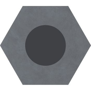 Керамогранит Ornamenta Corebasics Dot-Positive Grey Hexagon 60 (CB60DPG)