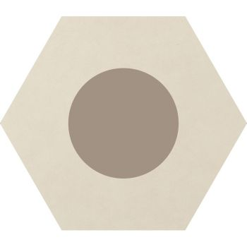 Керамогранит Ornamenta Corebasics Dot-Positive Ivory Hexagon 60 (CB60DPI)