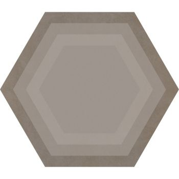 Керамогранит Ornamenta Corebasics Honeycomb Ashgrey Hexagon 60 (CB60HA)
