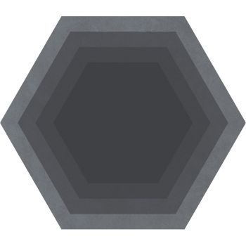 Керамогранит Ornamenta Corebasics Honeycomb Grey Hexagon 60 (CB60HG)
