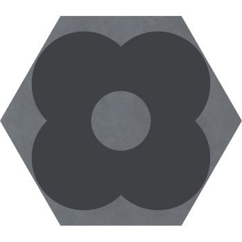 Керамогранит Ornamenta Corebasics Petals Grey Hexagon 60 (CB60PG)