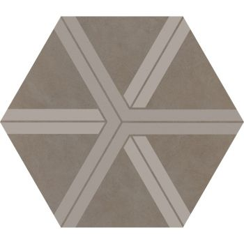 Керамогранит Ornamenta Corebasics Plot Ashgrey Hexagon 60 (CB60PLA)