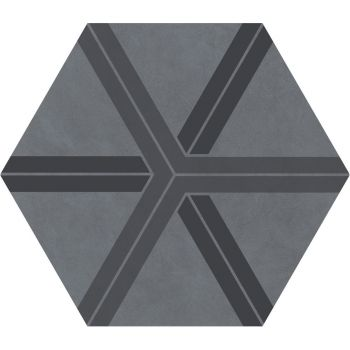 Керамогранит Ornamenta Corebasics Plot Grey Hexagon 60 (CB60PLG)