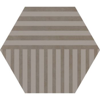 Керамогранит Ornamenta Corebasics Stripes Ashgrey Hexagon 60 (CB60SA)