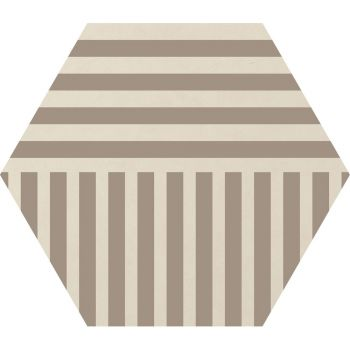 Керамогранит Ornamenta Corebasics Stripes Ivory Hexagon 60 (CB60SI)