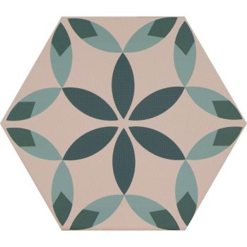 Керамогранит Ornamenta Decor Petal Hexagon 23 (DE23PE)