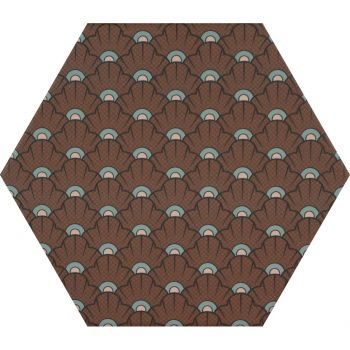 Керамогранит Ornamenta Decor Shell Hexagon 23 (DE23SH)
