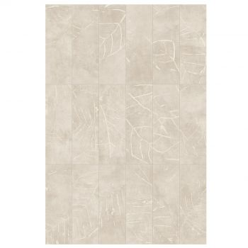 Керамогранит Fiandre Urban White Decoro Leaf Active 75х25 (IAS575359)